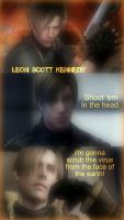 Leon S. Kennedy by Angie010