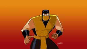 Scorpian Bruce Timm style by THW1138