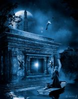 The flooded temple by ricky4