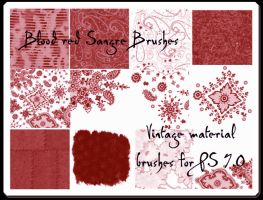 Vintage Materials for PS 7.0 by Sangre-brushes