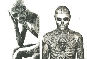 Rick Genest-Zombie Boy by Choppel