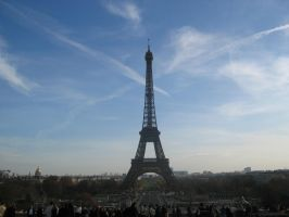 Eiffel Tower by Ansolon