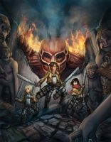 Attack on Titan by Krikin