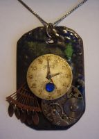 Steampunk jewellery necklace 3 by crazydemonmoon