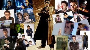 Tenth Doctor Wallpaper by ShannaVictoria16