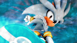 Silver the Hedgehog[51] by Light-Rock