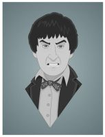 Patrick Troughton 1966 to 1969 by Nevski86