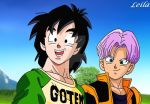 Teen Goten and Trunks by Leila490