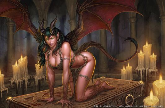 Succubus by GlennRaneArt