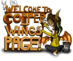 Hello, and Welcome! by Copper-Wings