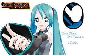 MMD- Case Closed Eye Texture- by MMDFakewings18