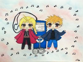 The Elric Brothers: Nothing I won't give for Vic.M by kiyoshi-seishin
