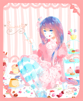 :summer contest: sweets by justanotaku9