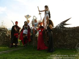 Clamp in wonderland group by MaddMorgana