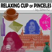 Relaxing cup of pinceles STHERHO by StherHO