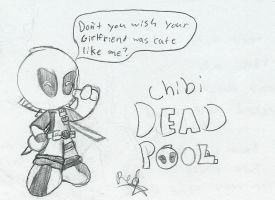 Chibi deadpool by Redstar212