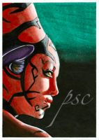Star Wars Darth Talon Sketch by JohnHaunLE
