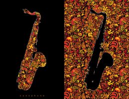 saxophone by freeminds