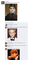 Throwback Thursday - Harry Potter Facebook convo by Cherolibubs