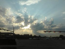 Light through the clouds by Geistson