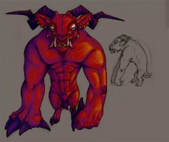 Red Goat Concept by Khaarma