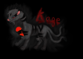 Kage monster within by Kamixazia