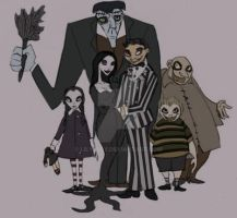 The Addams Family by Lily-pily