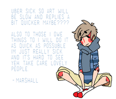 Sick Marshall Is Sick Eww by crownedmutt