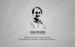 Linus Torvalds Wallpaper by Glenn1794