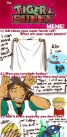Tiger and Bunny Meme by DarrinIthamar