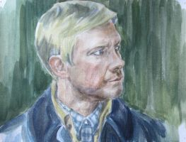Martin Freeman as Dr. John Watson 3 by Greencat85