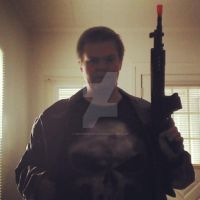 More of Me as The Punisher! by OwossoHarpist