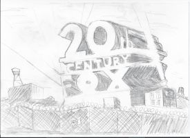 20th Century Fox Banksy by 69ingChipmunkzz