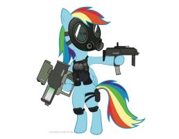 MW3 Rainbow Dash by AstralBeast