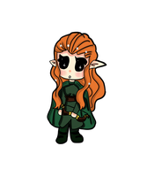 comm: tauriel the hobbit by yansenwijaya