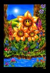 .Sun, Summer and Sunflowers. by Xenonia