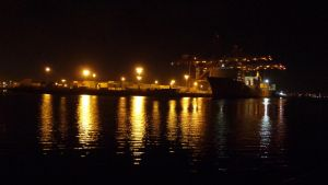 Harbor Night time by CZProductions
