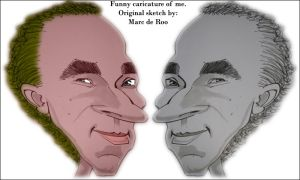 My caricature. by PimArt