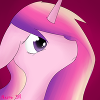 Princess Cadence by NasuNi