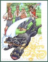 HP Marauders: Padfoot, FETCH by rachaelm5