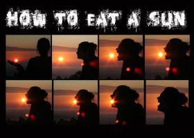 How to eat a sun by Kalsimage