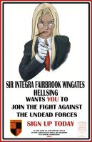 Hellsing Wants YOU by lissa-quon