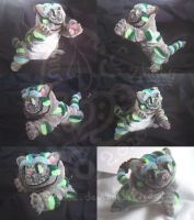 Cheshire Cat - PipeCleaners by Zhiibe