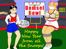 The 2016 Damsel Bowl! by MisterMistoffelees