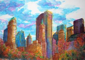Rendition of Central Park by m-yun