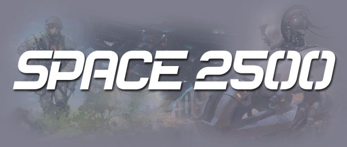 SPACE 2500 Story by BlackDonner