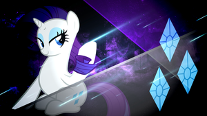 Starlight Series - Rarity by Meteor-Venture