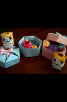 Origami Gifts (Box, Hamtaro, Roses) by LuvYen101