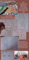 Copic Tutorial - Shaak Ti by nanchino