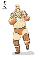 Lord Tensai by beardrooler